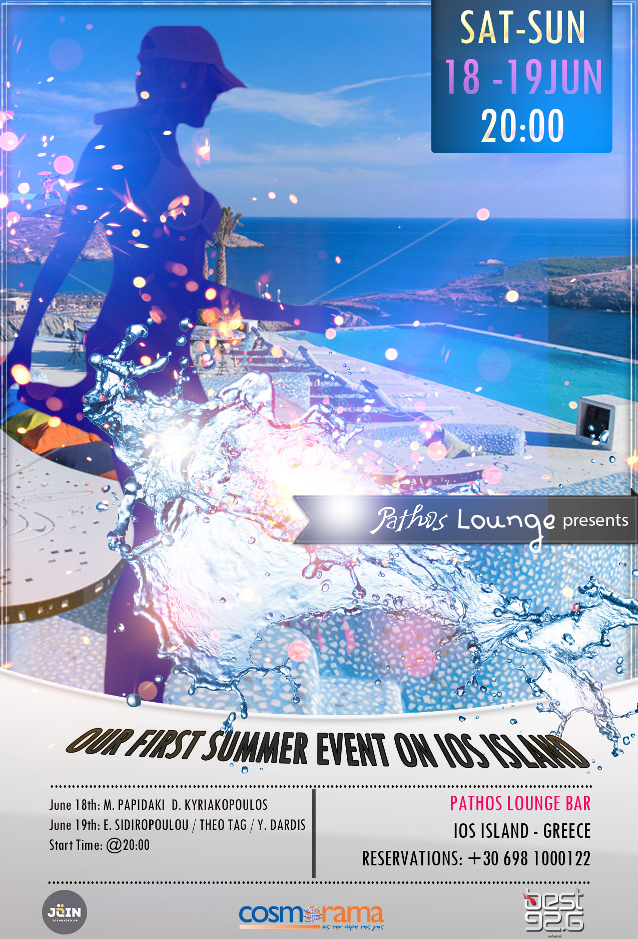 Summer Party @Pathos Lounge 2016 June 18-19