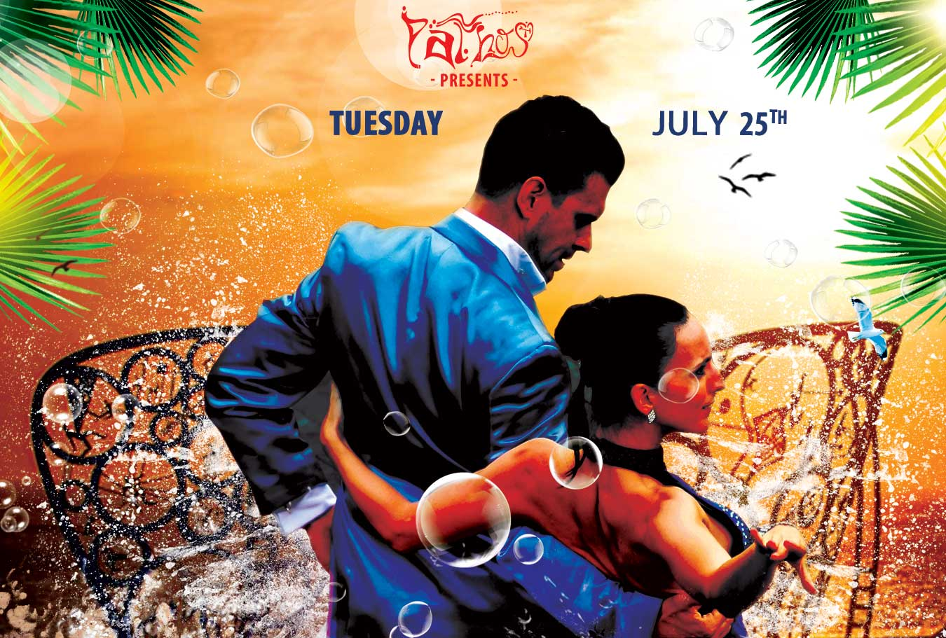Latino Party in Ios Island - July 25th