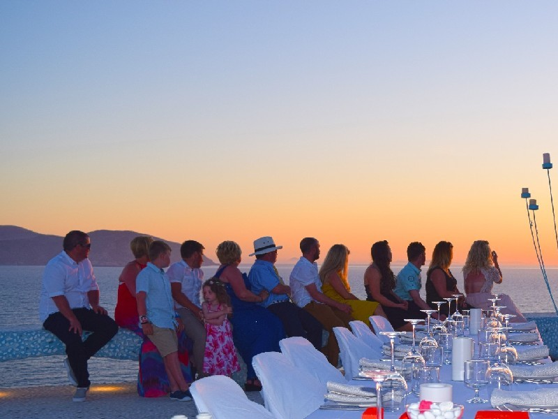 Weddings Ios Island Greece Pathos Club and Restaurant