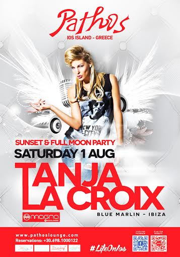 Tanja La Croix SUNSET - FULL MOON PARTY