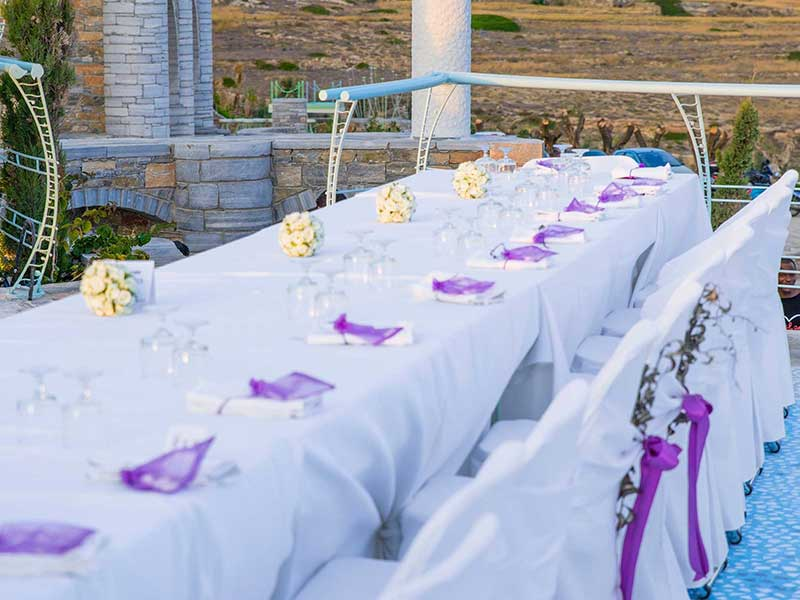 Wedding Events in Ios Pathos Club and Restaurant