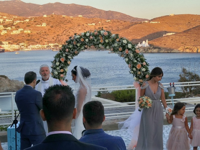 Wedding at Agalia Luxury Suites Pathos Club and Restaurant
